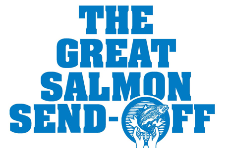 Great Salmon Send Off - logo