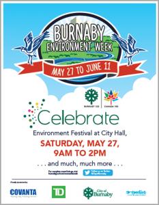CoB Environment Week 2017 poster